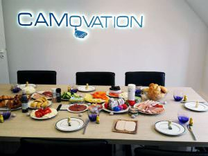 Osterbrunch bei CAMovation
